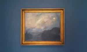 Max Slevogt, Mondnacht Neukastel - Blick auf die Madenburg bei Mondschein. 1917 © GDKE, Landesmuseum Mainz, Max Slevogt-Galerie