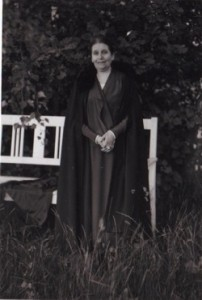 Martha Liebermann im Wannseegarten, 1927, MLG, Foto: Debschitz-Kunowski