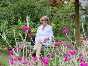 Irene Pahl 2013 im Liebermann-Garten