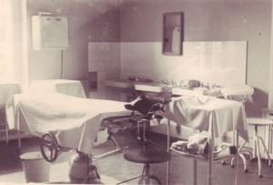 Operationssaal im ehemaligen Atelier Max Liebermanns 1947