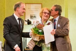 Irene Pahl wird für Ihr langjähriges Engagement zum Ehrenmitglied der Max-Liebermann-Gesellschaft