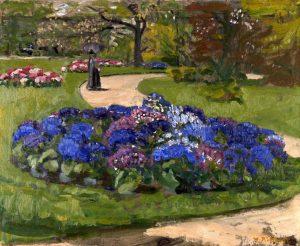 Waldemar Rösler, Das blaue Beet, 1905